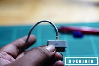 ngebikin Pelindung Kabel Charger Smartphone DIY
