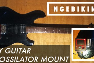 ngebikin.com cara membuat DIY guitar kaossilator mount
