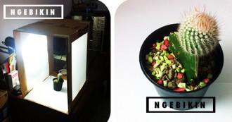 ngebikin.com cara membuat DIY mini studio