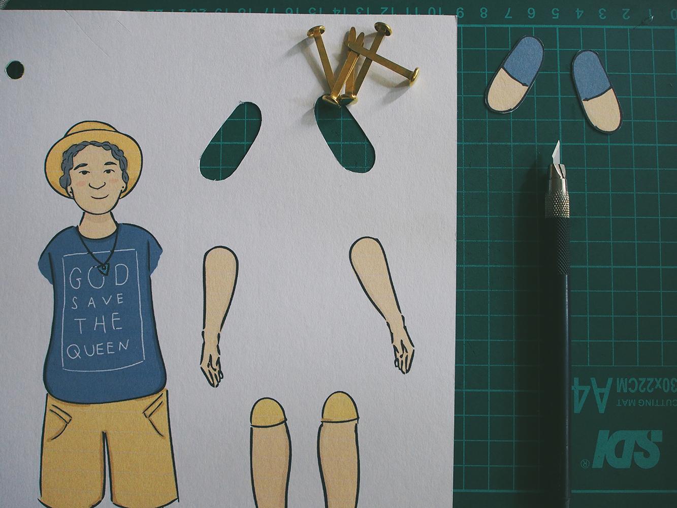 Cara Membuat Boneka Gerak Tali Boneka Baru